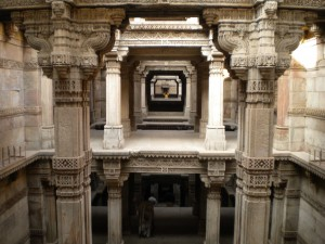 The levels of the Adalaj Step Well